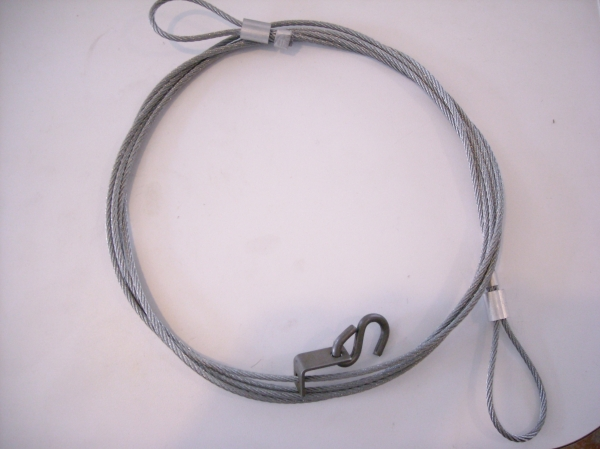 "1/8"" 7X7 10 FT CABLE DROWNER"
