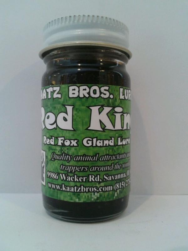 Kaatz Bros Red King Fox Gland Lure
