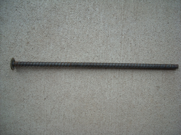 1/2 inch x 18 inch Washer Top Rebar Trap Stakes