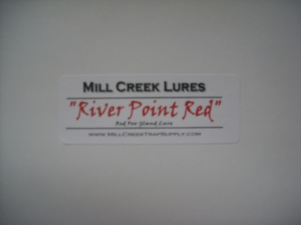 Mill Creeks River Point Red – Fox Gland Lure