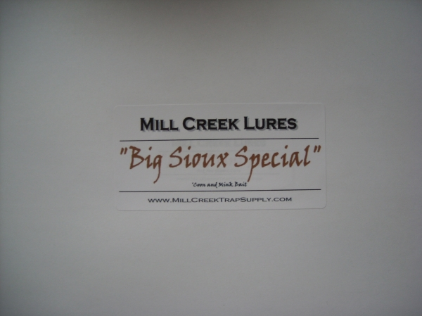 Mill Creek Big Sioux Special – Coon and Mink Bait