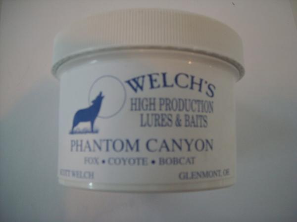 Welchs Phantom Canyon Predator Paste Bait – 8 oz