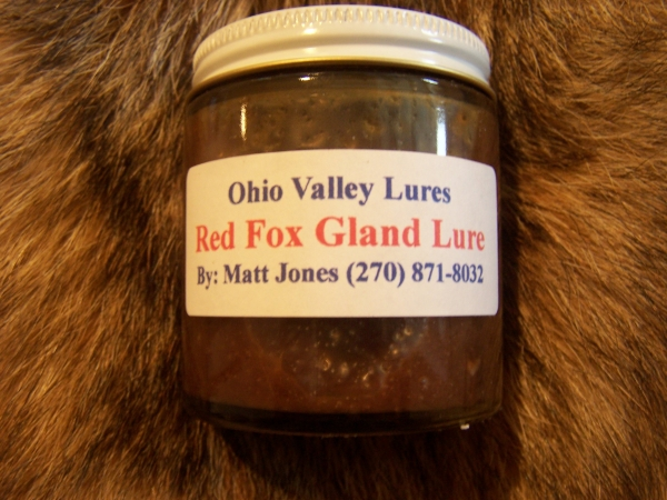 Ohio Valley Red Fox Gland Lure 4 oz
