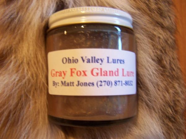 Ohio Valley Gray Fox Gland Lure 4 oz