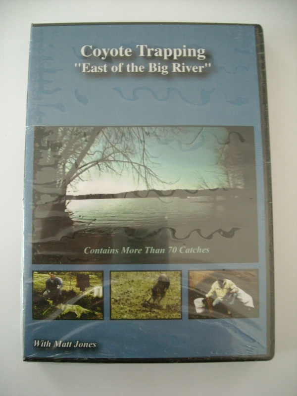 Matt Jones Coyote Trapping East of the Big River DVD