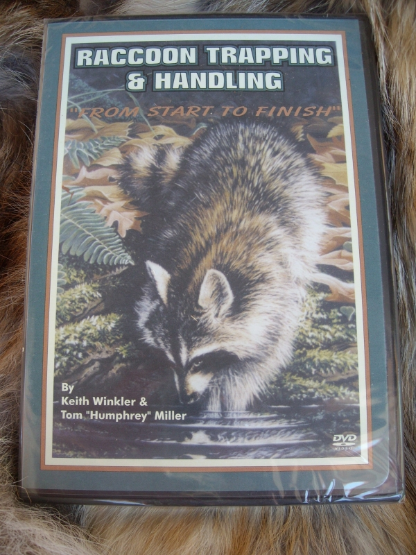 Keith Winkler's Raccoon Trapping & Handling: From Start to Finish DVD