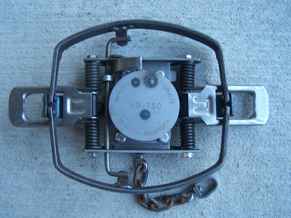 "MB-750 Beaver Trap 1/4"" Offset Jaw"