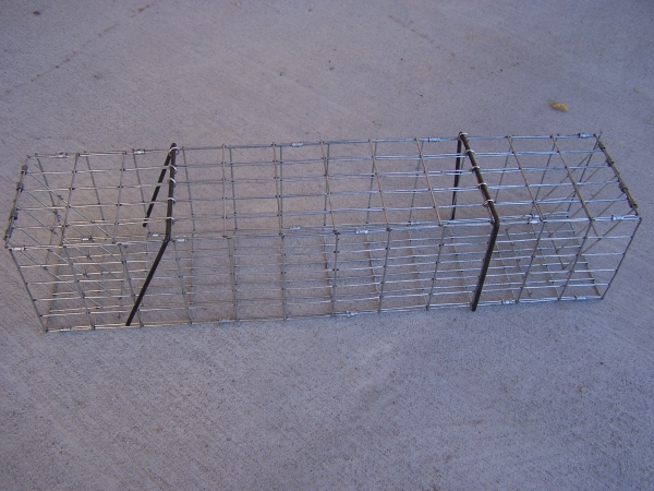 Muskrat Folding Colony Trap