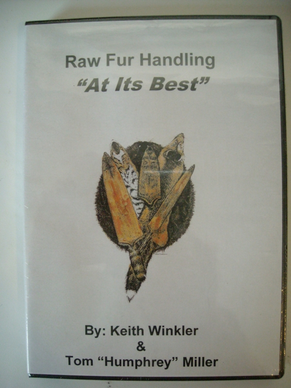 Keith Winkler's Raw Fur Handling At Its Best DVD