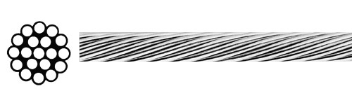 1/16″ 1×19 cable