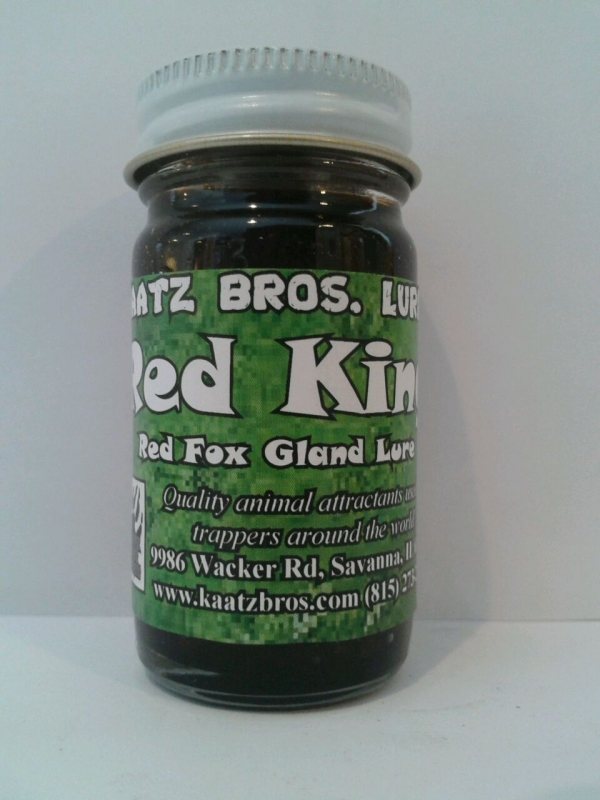 Kaatz Bros Red King Fox Gland Lure