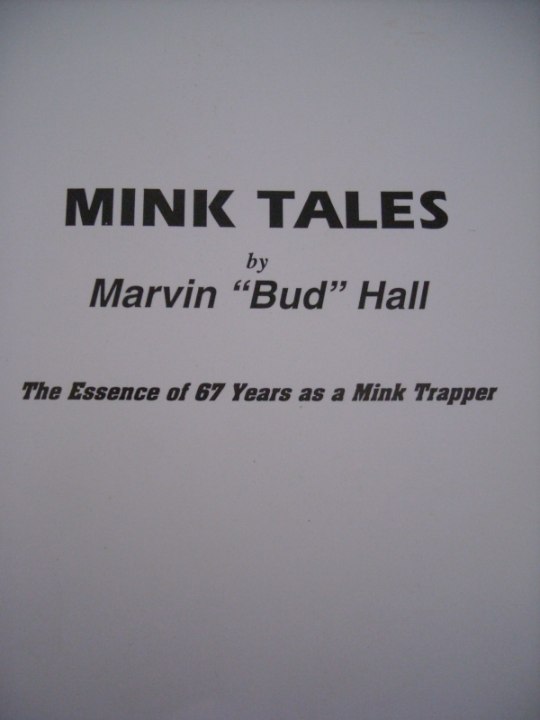 MInk Tales by Marvin 'Bud' Hall
