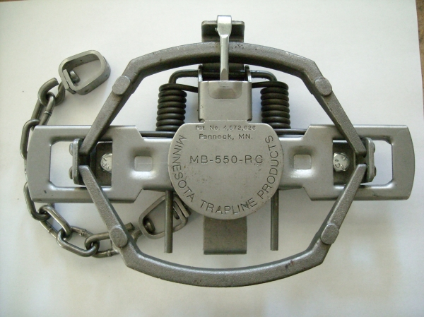 MB-550 Regular Closed Jaw 2 coiled Trap