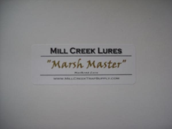 Mill Creeks Marsh Master – Muskrat Call Lure