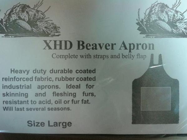 HD Beaver Apron