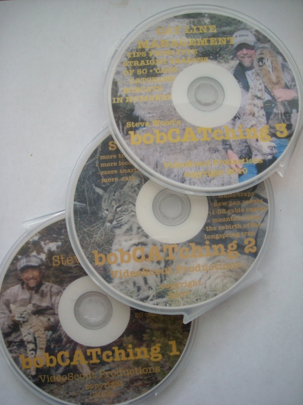 Steve Wood Bobcatchin Series 1-3 DVDs