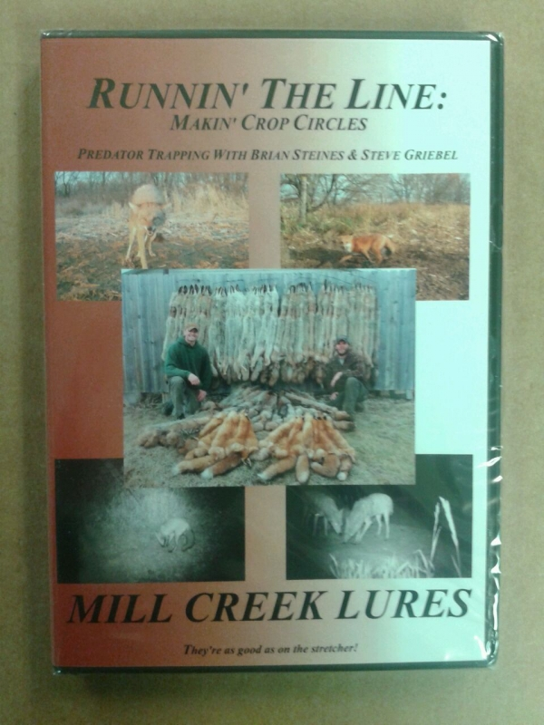 Runnin the Line: Makin' Crop Circles DVD with Brian Steines and Steve Griebel