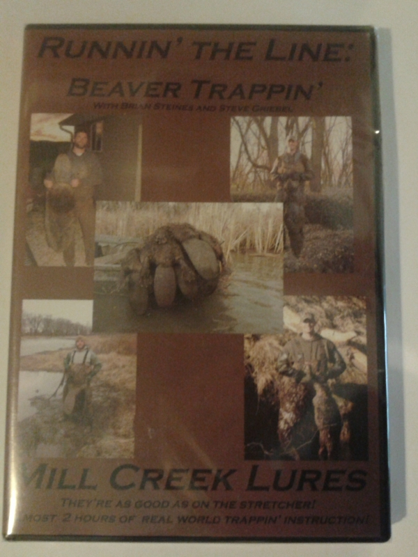 Runnin the Line: Beaver Trappin DVD with Brian Steines and Steve Griebel