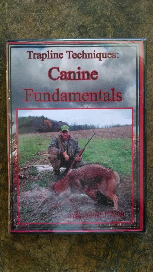 Trapline Techniques: Canine Fundamentals DVD with Scott Welch