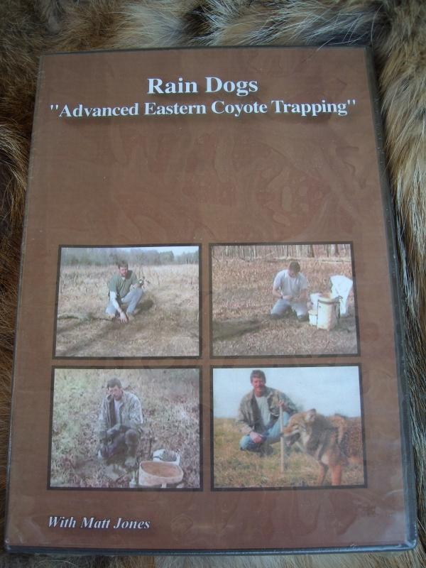 Matt Jones DVD Rain Dogs: Coyote Trapping DVD