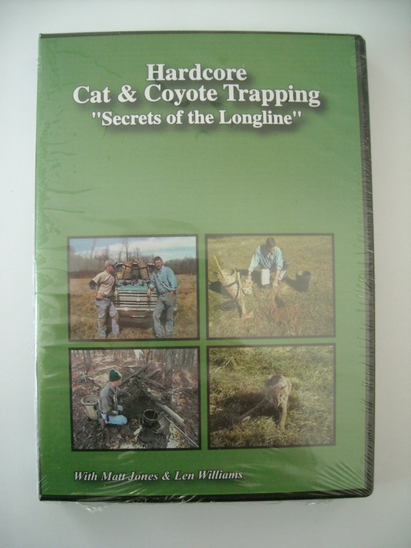Matt Jones Hardcore Cat and Coyote Trapping DVD
