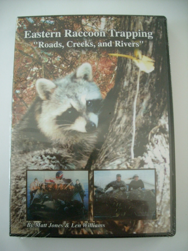 Matt Jones Eastern Raccoon Trapping DVD