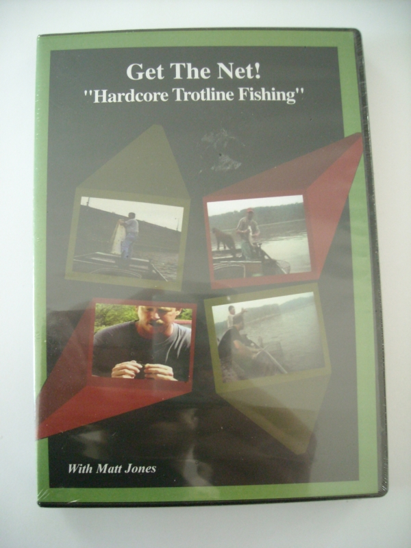 Matt Jones Get the Net Trotline Fishing DVD