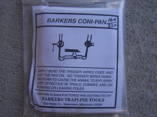 Barker's Coni Pans