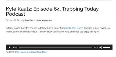 Kyle Kaatz Podcast!